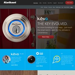 Kevo - Bluetooth Electronic Lock