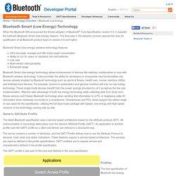 Bluetooth Development Portal