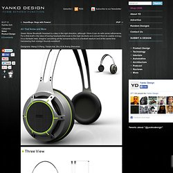 Green Noise Bluetooth Headset by Wang Yi Peng, Tianjin Kai, Zhu Xi & Zhang Zhenzhen