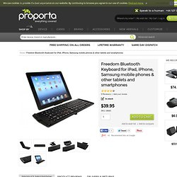 Bluetooth Keyboard for iPad, iPhone, Samsung mobile phones & other tablets and smartphones
