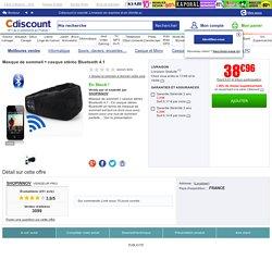 Masque de sommeil + casque stéréo Bluetooth 4.1 - Achat / Vente casque - microphone Masque de sommeil + casque ...