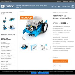 Robot mBot 1.1 (Bluetooth) – niebieski