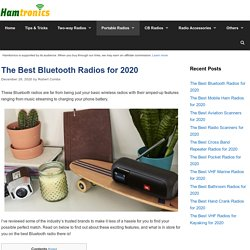 11 Best Bluetooth Radios Reviewed & Rated in 2020