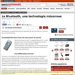 Les normes et les Classe : Le Bluetooth, une technologie méconnu