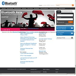 Bluetooth.org - The Official Bluetooth Membership Site