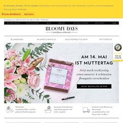 Blumenversand - Blumen online verschicken
