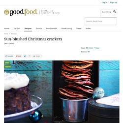 Sun-blushed Christmas crackers Recipe