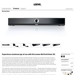 Übersicht-DVD/BluRay-Products-Loewe. Individual Home Entertainment Systems.