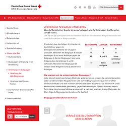 Vererbung der AB0-Blutgruppen – Über die Blutspende beim DRK