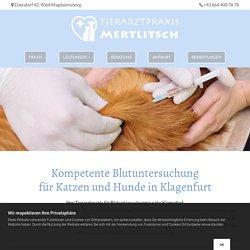 Blutuntersuchung für Hund und Katze bei Klagenfurt