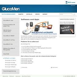 Blutzuckermessgeräte / Software und Apps