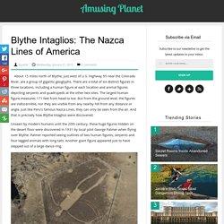 Blythe Intaglios: The Nazca Lines of America