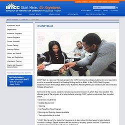 BMCC Academics
