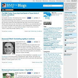 Group blogs: BMJ