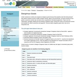 bmvit - Dangerous Goods