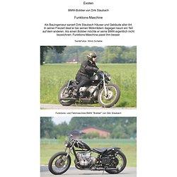 BMW Bobber von Dirk Staubach