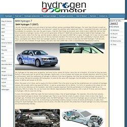 BMW Hydrogen 7 - Hydrogen Motors