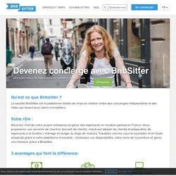 BnbSitter - Devenez concierge avec BnbSitter