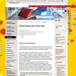 Dépôt légal des sites Web
