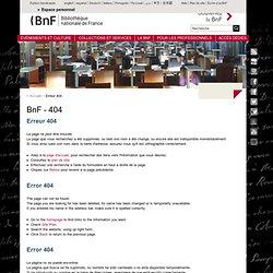 Les services numériques : SPAR (2009)