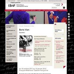 Exposition - Boris Vian