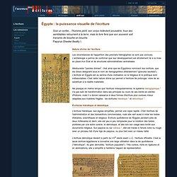 L'aventure des écritures - Arrêt sur