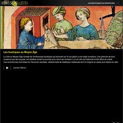 BnF : Les boutiques au Moyen Âge