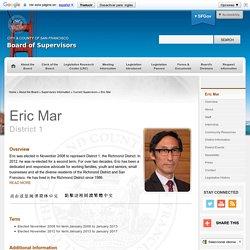 Board of Supervisors : Eric Mar