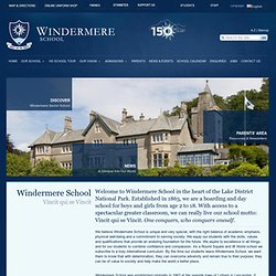 Windermere School | Boarding Schools UK