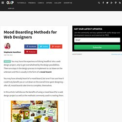 Mood Boarding Methods for Web Designers