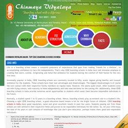 CBSE Boarding schools in India - Chinmaya Vidyalaya Nauni