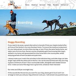 Dog Boarding Sites in Horsham