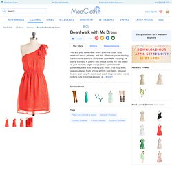 Boardwalk with Me Dress | Mod Retro Vintage Dresses