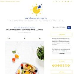 Egg boats à l'italienne