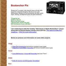 Boatanchor Pix