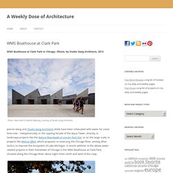 A Weekly Dose of Architecture