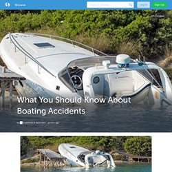 Factors Lead To Boating Accidents