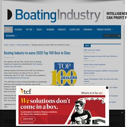 Boating Industry to name 2020 Top 100 Best in Class