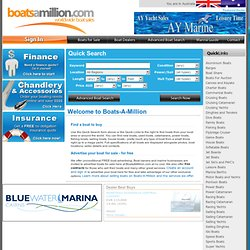 Boats For Sale Directory by Boats-A-Million