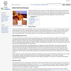 Bob Delmonteque - Nudist History