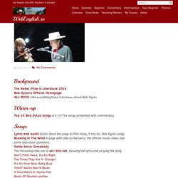 Bob Dylan – WebEnglish.se
