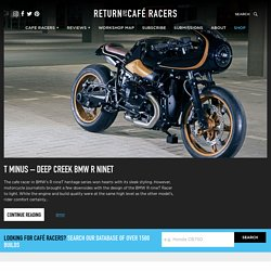 Cafe Racers, Bobbers, Trackers, custom motorcycle parts and builders.