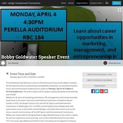Bobby Goldwater Speaker Event