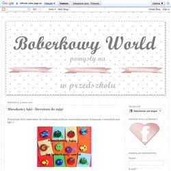 Boberkowy World : Mieszkańcy łąki - literatura do zajęć