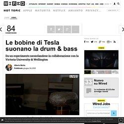 Le bobine di Tesla suonano la drum & bass