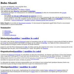 Bobo Shanti