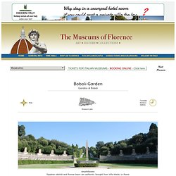 Boboli Garden - Florence