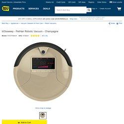 bObsweep PetHair Robotic Vacuum Tan P4727546CH