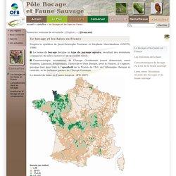 Les bocages et les haies en France - Pôle bocage et faune sauvage