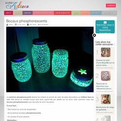 Bocaux phosphorescents